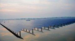水上光伏太阳能电站支架