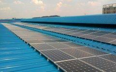 太阳能光伏支架与钢结构