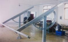 太阳能阳光板支架耐力板
