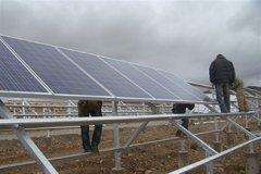 安装太阳能光伏支架的方