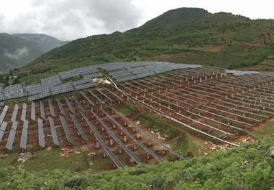 四川攀枝花太阳能支架项目