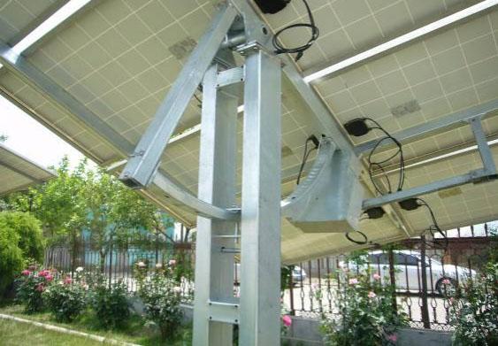 双轴跟踪式太阳能支架加工