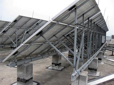 屋顶铝合金光伏支架