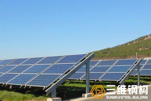 太阳能光伏支架阵列系统