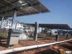 家用太阳能发电站使用中